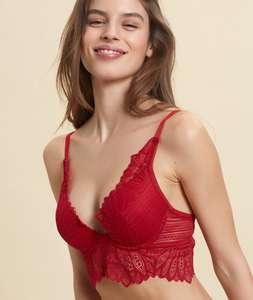 Sélection de soutiens-gorge en promotion - Ex : Soutien-gorge Karma N°2 - Rouge (Plusieurs Tailles)