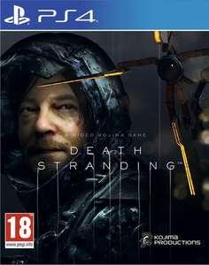 Death Stranding sur PS4 (Vendeur Boulanger)