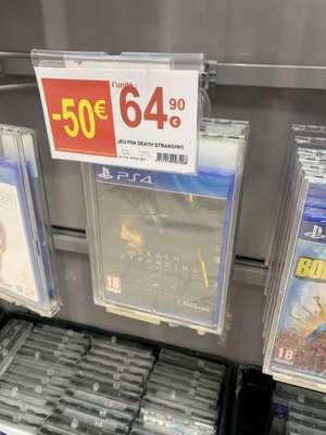 Jeu Death Stranding sur PS4 - Geant Casino de Chalon sur Saône (71)