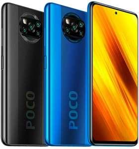 "Smartphone 6.67"" Xiaomi Poco X3 - Full HD+ 120 Hz, Snapdragon 732G, RAM 6 Go, 64 Go, APN 64+13+2+2 MP, 5160 mAh (Noir ou Bleu)"