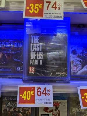Sélection de jeux en promotion - Ex : The Last of Us Part II - Quimper (29)