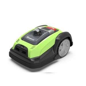 Robot tondeuse sans fil PowerG SH900 Eco (Largeur de coupe 18cm, 28V 2.9Ah)