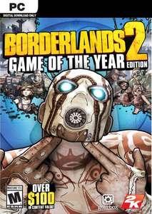Borderlands 2 Game Of The Year Edition sur PC (Dématérialisé - Steam)