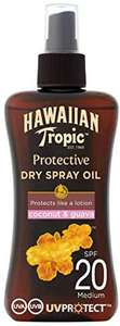 Spray Huile Solaire Protectrice Hawaiian Tropic - SPF20, 200 ml