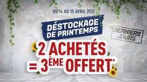 2 articles adidas Olympique Lyonnais achetés parmi une sélection = le 3ème offert (le moins cher)