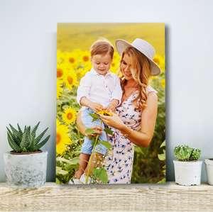 Sélection de Photos sur toile en promotion à partir de 1,14€ - Ex : Toile 60x40 cm