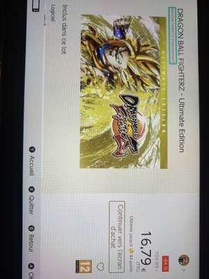Jeu Dragon ball fighterz - ultimate edition sur Nintendo Switch (Depuis store de la console - Dématérialisé)