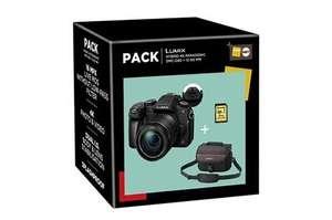 Kit appareil photo Panasonic Lumix DMC-G80 (16 Mpix, Live MOS) + objectif 12-60 mm + carte SD (16 Go) + sacoche