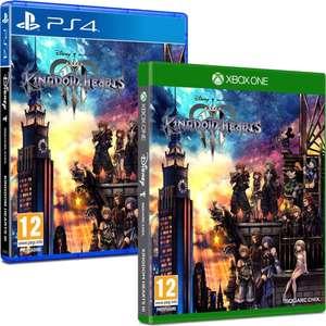 Kingdom Hearts III sur PS4 & Xbox One + 0,30€ de Rakuten Points