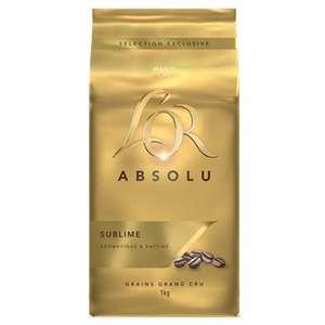 Café en grains L'Or Absolu - 1Kg (Saint-Etienne 42)