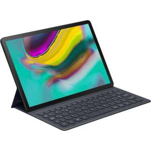 Etui Book Cover Keyboard pour Tablette Samsung Galaxy Tab S5E - QWERTY, Noir