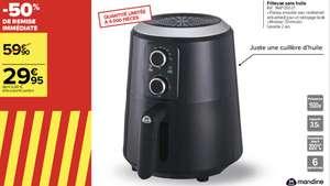 Friteuse sans-huile Mandine MAF1350-21 - 3.5 L, 1500 W