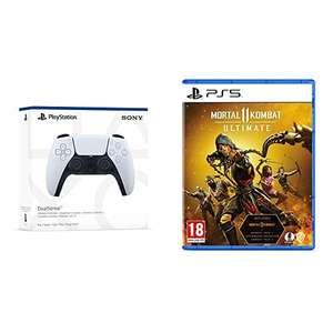Manette Sans-Fil Sony DualSense PS5 + Mortal Kombat 11 Ultimate sur PS5 (Frais Inclus)