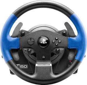 Volant + pédalier de jeux vidéo Thrustmaster T150 Force Feedback (PS3 / PS4 / PC) ou TMX Force Feedback (PC / Xbox One)