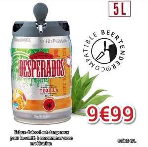 Fût de bière Desperados - 5L (Epône - 78 et Nevers - 58)