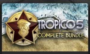 Tropico 5 Complete Bundle : Le jeu + Toutes les extensions et DLC sur PC (Dématérialisé - Steam)