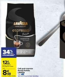 Paquet de Café en grains Lavazza Espresso Barista Perfetto - 1 Kg (Via 4.37€ sur la carte fidélité)