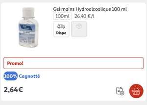 Gel hydroalcoolique Energie Fruit Gratuit - 100ml (Via Carte de FIdélité)
