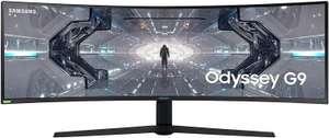 "Ecran PC Incurvé 49"" Samsung Odyssey G9 C49G95TSSU - DWQHD, QLED, Dalle VA, HDR1000, 240 Hz, 1 ms, FreeSync (Frontaliers Suisse)"