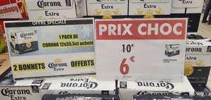 Pack de 12 bières Corona (12 × 35,5 cl) + 2 bonnets offerts - Les Eleis Cherbourg-en-Cotentin (50)
