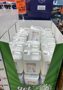 Bidon de solution ou gel hydroalcoolique (5L) - Rezé (44)