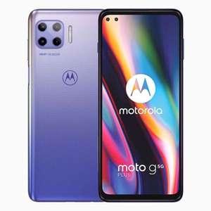 "Smartphone 6.7"" Motorola Moto G 5G plus - Mystic Lilac (Dual SIM), NFC, Batterie 5 000 mAh 128GO (jusqu'a 1 To extensible), 6Go de RAM"
