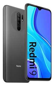 """Smartphone 6.53"""" - Xiaomi Redmi 9 - Full HD+, Helio G80, RAM 4 Go, 64 Go, 5020 mAh, Gris (frais d'importation compris)"""