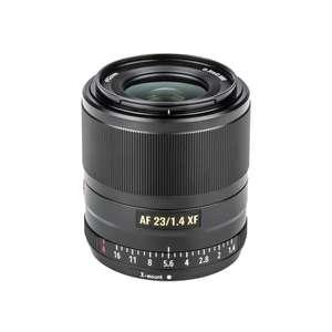 Objectif Viltrox 23mm f 1.4 monture fujifilm