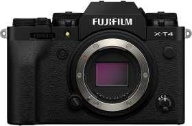 Sélection d'articles photo Fujifilm en promo, ex : Appareil photo Fujifilm X-T4 Hybride, Mirrorless, 26Mpix (Noir ou Silver)
