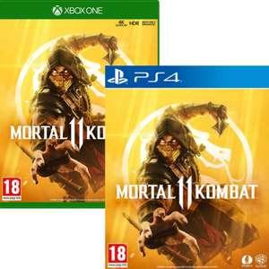 Mortal Kombat 11 sur PS4 ou Xbox One