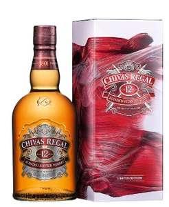 Bouteille de Whisky Chivas Regal 12 ans - 70 cl (via 9.16€ sur la Carte de Fidélité)