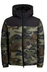Doudoune à capuche Jack & Jones Military pour Homme - Taille S ou XL