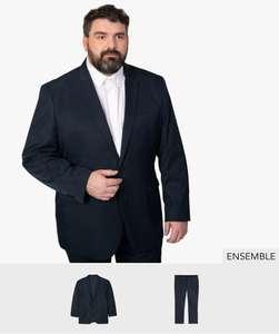 Ensemble de costume homme grande taille Gemo - Plusieurs tailles au choix