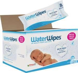 Paquet de lingettes pour bébé WaterWipes - 12x60 lingettes