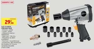 Clé à chocs pneumatique Power Plus
