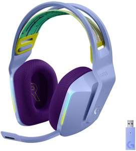 Casque audio sans-fil Logitech Lightspeed G733 - coloris Lilac