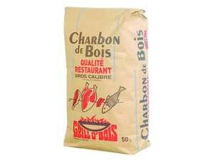 Sac de charbon de bois Grill O'Bois Qualité Restaurant (50 L) - magasins participants