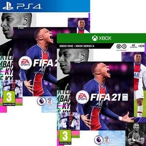 FIFA 21 sur Xbox One (PS4 à 17.37€)