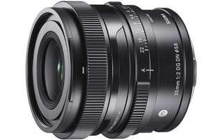 Objectif Sigma Contemporary pour Sony E - 35mm, F/2 DG DN