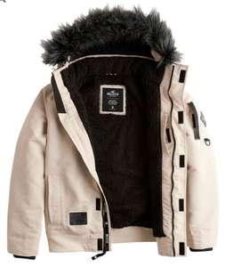 Manteau à capuche Hollister beige - Taille XS, S ou M