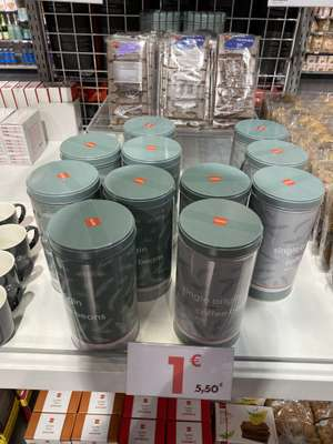 Café plus boîte de café grains - 250g