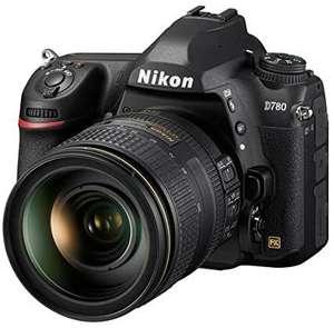 Kit appareil photo numérique reflex Nikon D780 (24.5 Mpix, CMOS, 4K) + objectif AF-S 24-120 mm f/4G ED VR