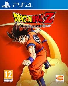 Dragon Ball Z Kakarot sur PS4