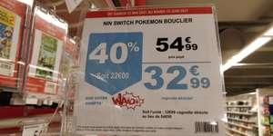 Jeu Pokémon Bouclier sur Nintendo Switch (via 22€ sur la carte) - Fontenay (94)