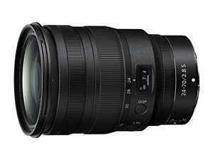 Objectif photo Nikon Nikkor Z 24–70mm f2.8 S pour hybride Nikon Z