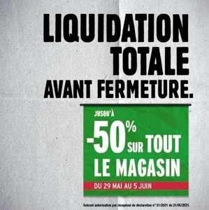 Liquidation totale avant fermeture - Mennecy (91)