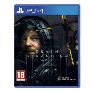 Death Stranding sur PS4 (Frontaliers Suisse)
