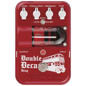 Pédales guitare Vox Tone Garage Double Deca Delay ou Trike Fuzz