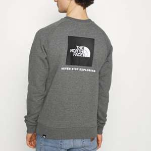Sweat The North Face Raglan RedBox Crew New pour Homme - Tailles XS à 2XL