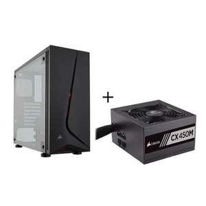 Sélections de packs en promotion - Ex : Pack Boitier PC Corsair Carbide Spec 05 + Alimentation Corsair CX450M 450W Semi Modulaire 80+ Bronze